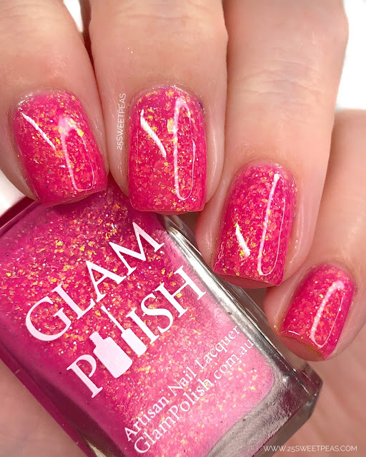 Glam Polish Life's a Beach 25 Sweetpeas