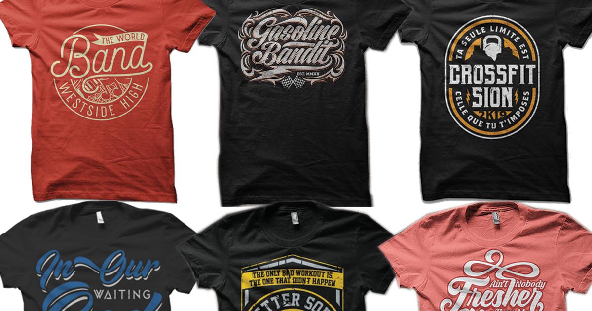 Bulk t shirt design services