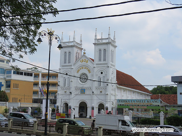 Church of Our Lady of Lourdes  in Klang Town.