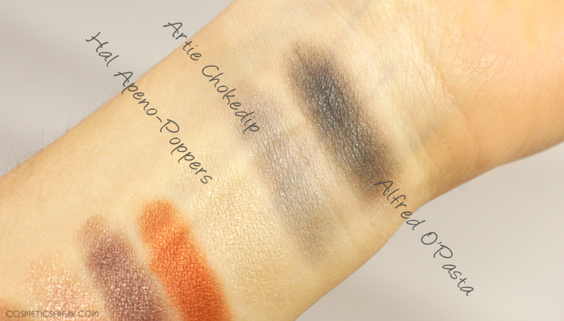 the balm appetit swatches