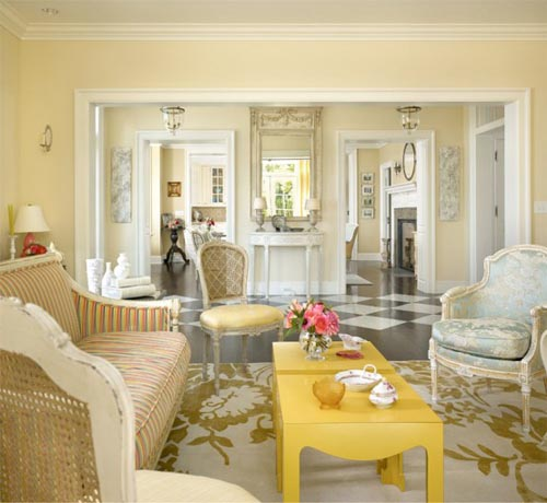 Traditional Living Room Interior Design: The Pink Elephant: Living Room Dreaming