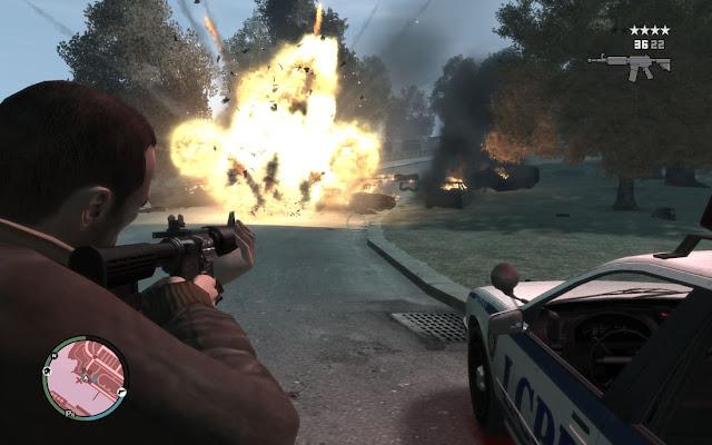 Imagem do GTA 4