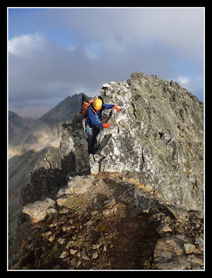 Cresteando por la cresta Seil de la Baque