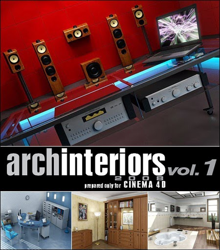 Evermotion – Archinteriors for C4D vol. 1
