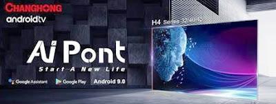 TV Android 9.0 Mulai Dijual di Indonesia