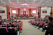DPRD Sulut,Gelar Rapat Paripurna Istimewa Hut Provinsi ke 57 Tahun