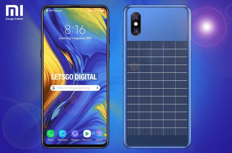 Xiaomi patents solar-powered smartphone design