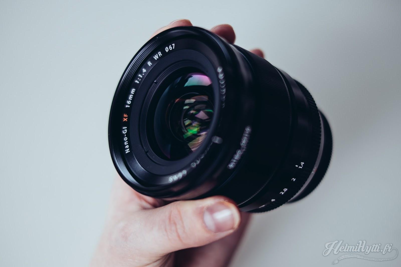 id testi fujinon 16 mm f 1.4 laajakulma wide lens