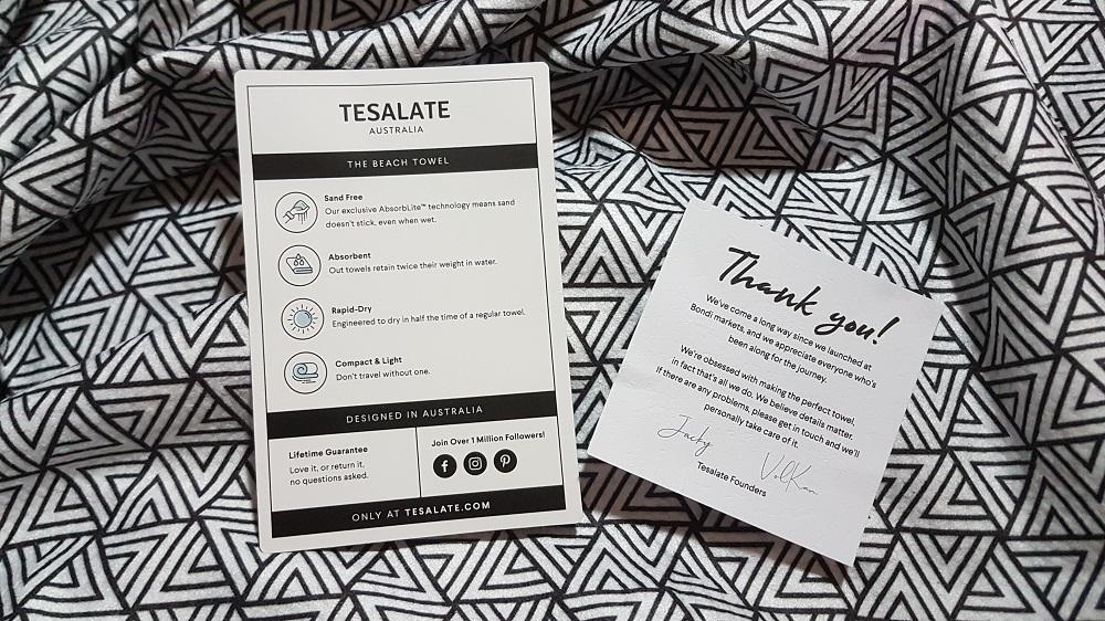 TESALATE BEACH TOWEL AUSTRALIA REVIEW