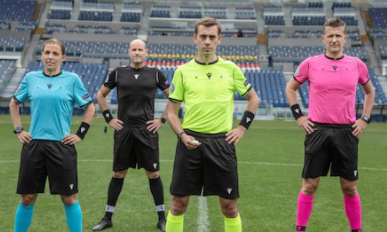 UEFA Italian kit manufacturer Macron unveiled kits