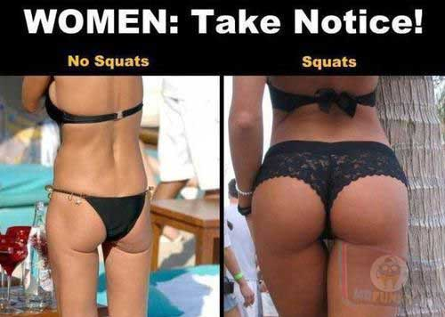 Squats will always help!