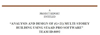 Civil Engineering College Project Topics