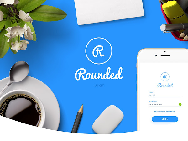 Download Rounded UI kit Free