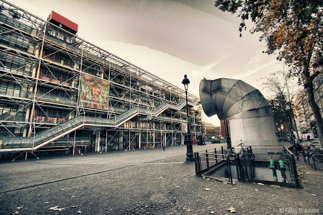 Centre Pompidou-Parigi
