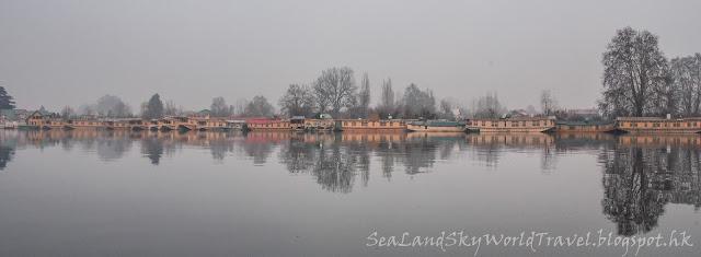 喀什米爾, 船屋, 遊湖, house boat, nigeen lake