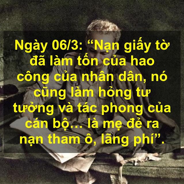 Ngày 06/3: Lời Bác Hồ dạy ngày này năm xưa!