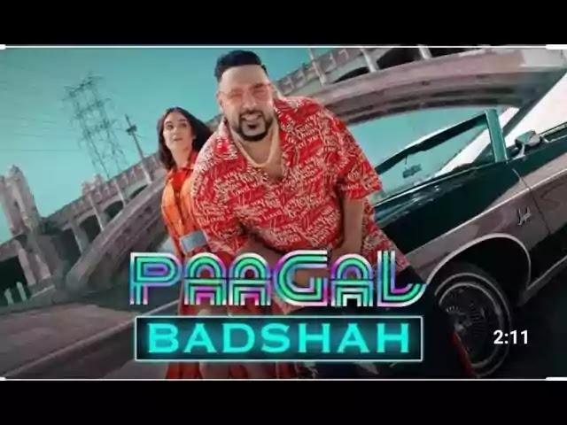 Paagal Lyrics – BADSHAH 2019