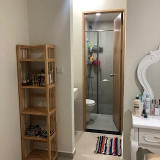 wc chung cư an gia star 2 phòng ngủ bình tân