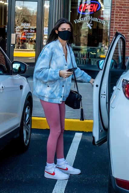 Rachael Kirkconnell – Seen leaving a hair salon in Atlanta