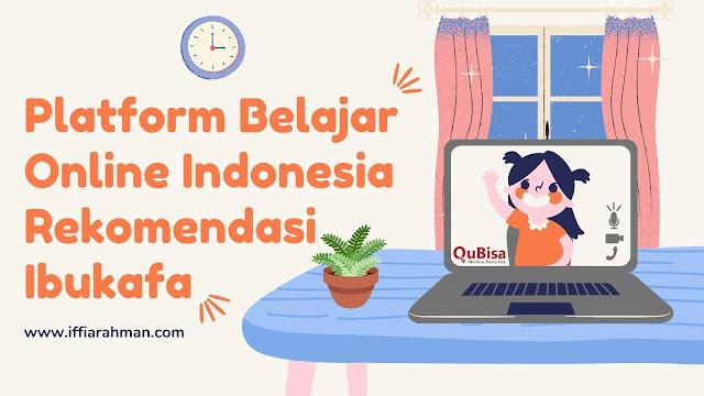 belajar online gratis melalui QuBisa