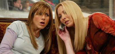 Jennifer Aniston e Lisa Kudrow em Friends: dá pra comprar temporadas da série com a Mega