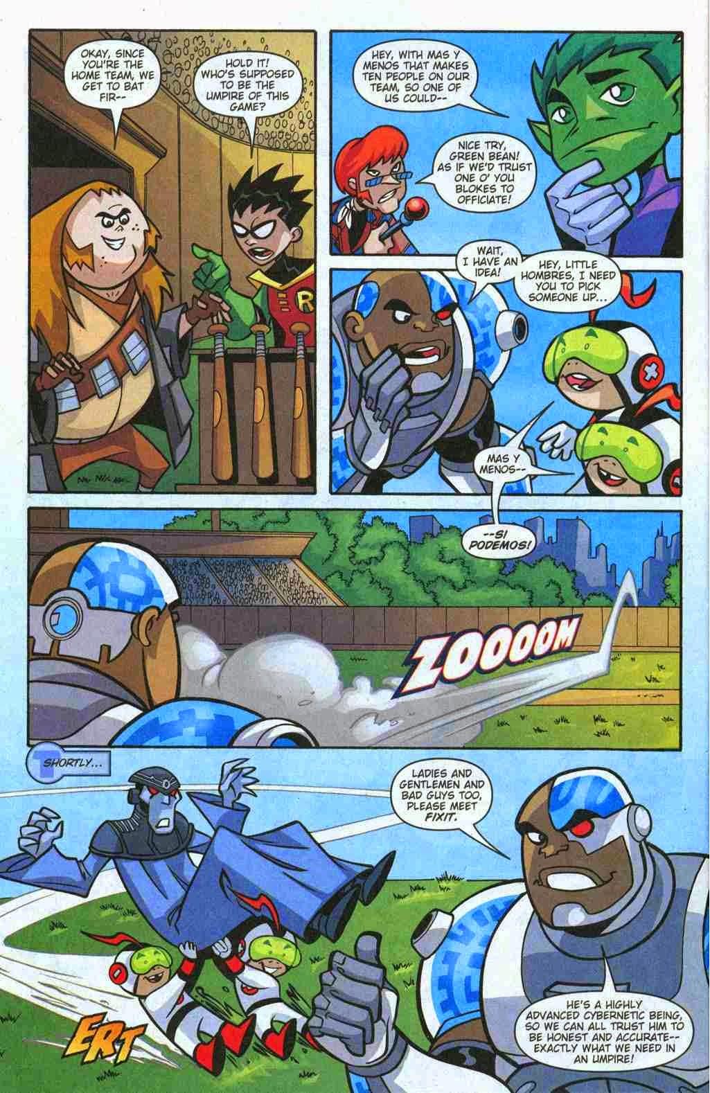 Teen Titans Story