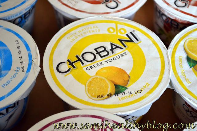 Chobani Greek Yogurt Giveaway Diary Of A Semi Health Nut