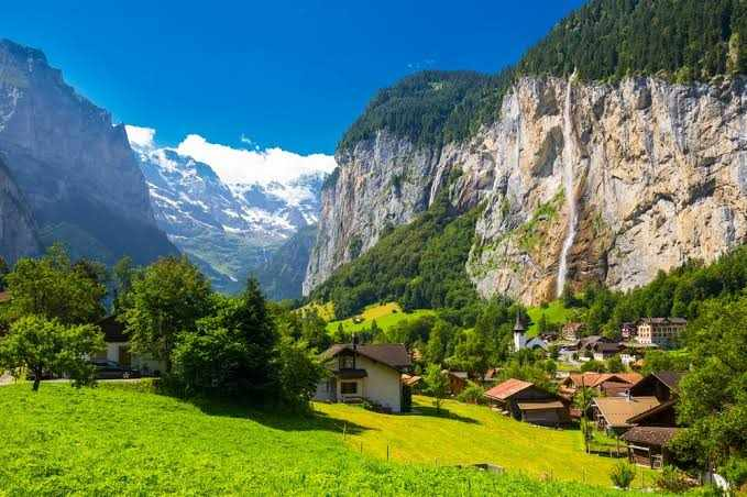 Top 5 Best Places to visit in Switzerland, Switzerland places to visit, Switzerland best time to visit, lauterbrunnen, lauterbrunnen switzerland