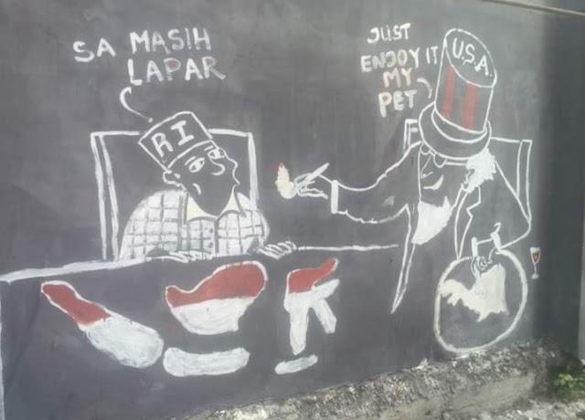Tanah Papua masih di jajah