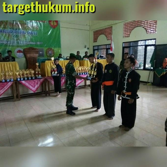 Kejuaraan Pencak Silat Piala Dandim Cup 2017 Telah Ditutup Oleh Kasdim 0718 PATI