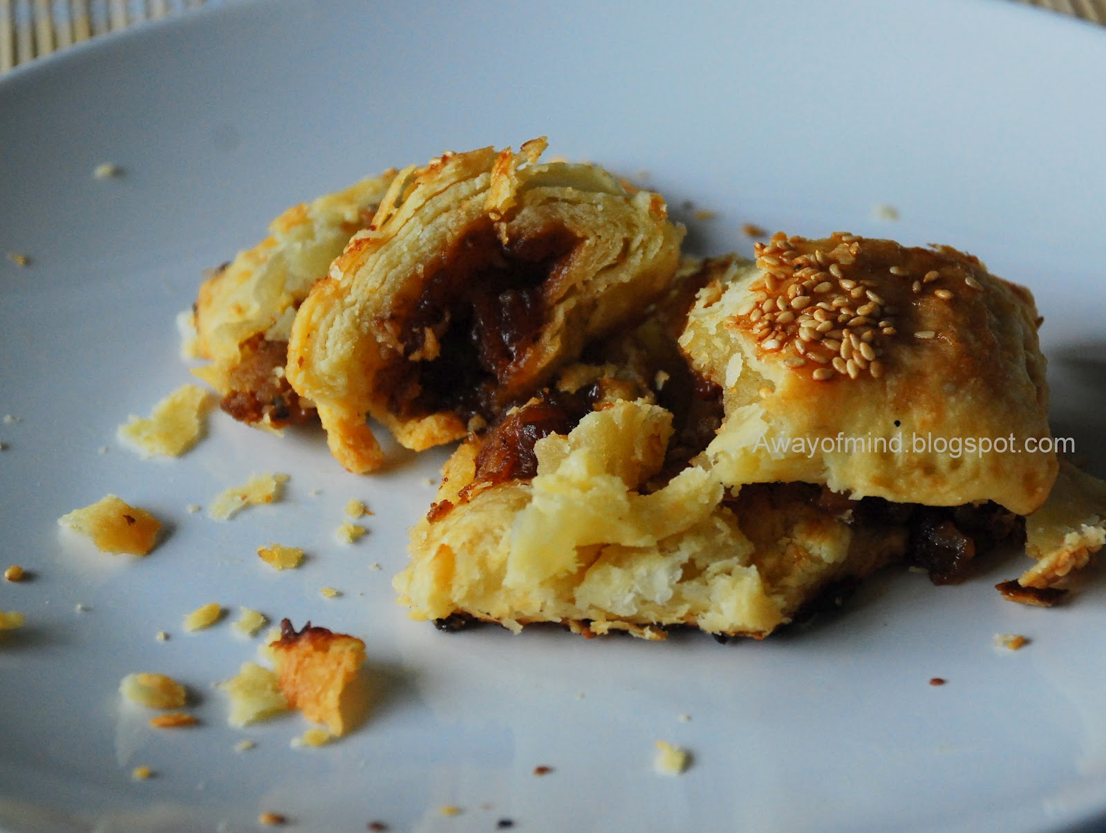 Awayofmind Bakery House: Baked Barbecued Pork Puffs (Char ...