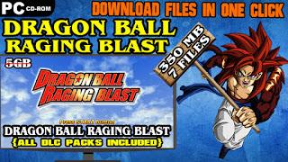 DRAGON BALL RAGING BLAST PC DOWNLOAD