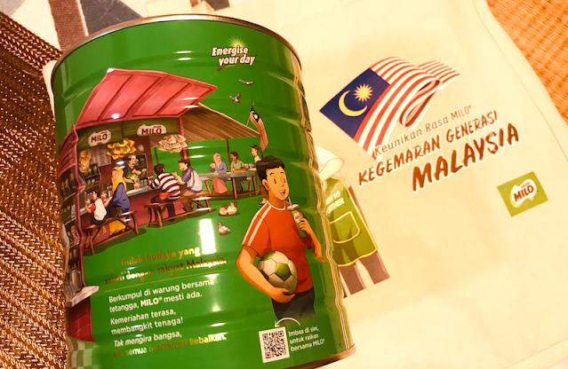 MILO RAIKAN SEMANGAT TAKKAN GENTAR RAKYAT MALAYSIA