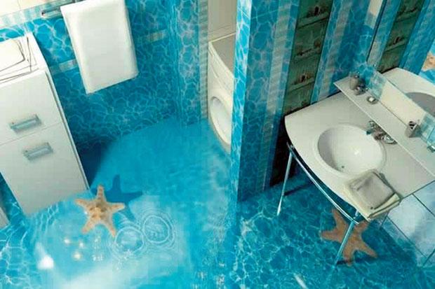 Desain Lantai  Keramik  dan model keramik  lantai  Kamar mandi