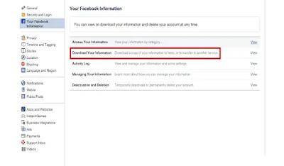 كيفية استرجاع رسائل محذوفة من فيسبوك بدون برامج