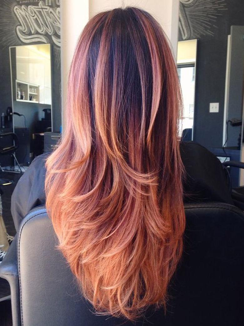 Gold Rose Hair La Nuova Moda Dei Capelli Rosa Vogue At Breakfast