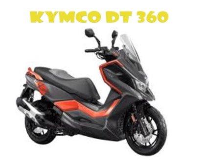Review dan Spesifikasi Motor Kymco DT 360