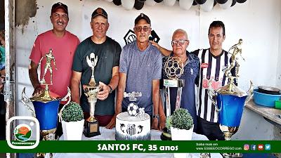 Confraternização de 35 anos do Santos FC