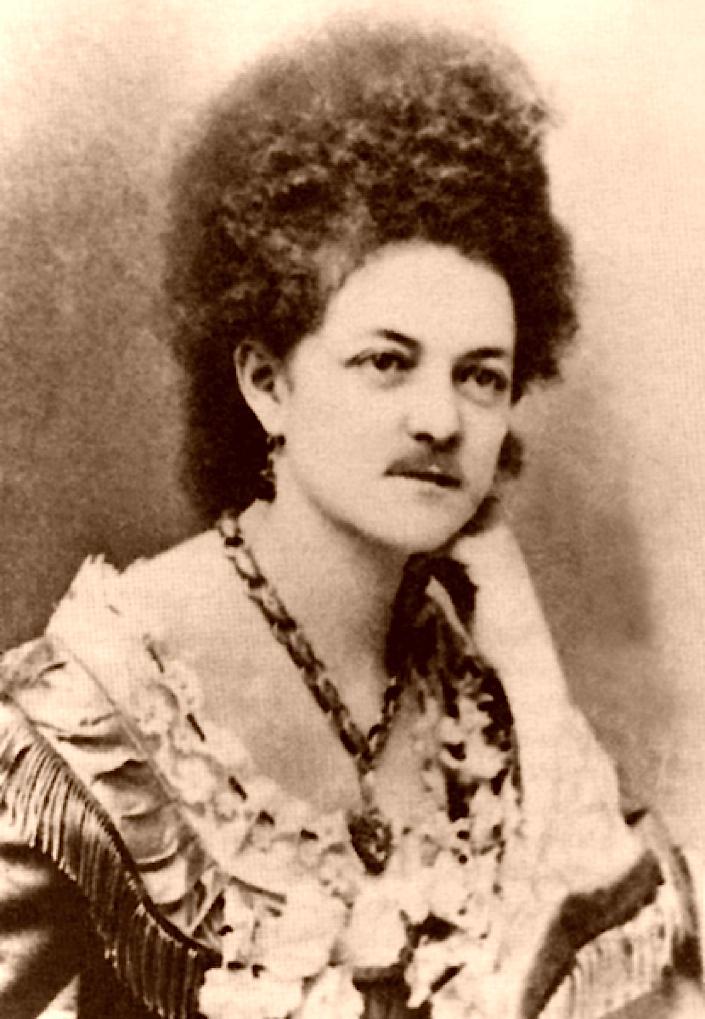 Nate's Nonsense: Madame Moustache, Eleanore Dumont