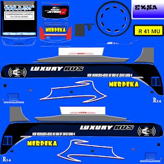 Download Livery Bus Merdeka
