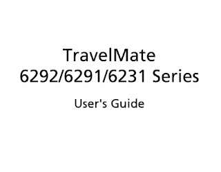Acer TravelMate 6292 Manual