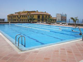 Swimming pool at Tazacorte