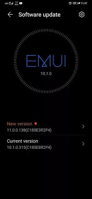 Huawei Mate 20 Pro Update EMUI 11