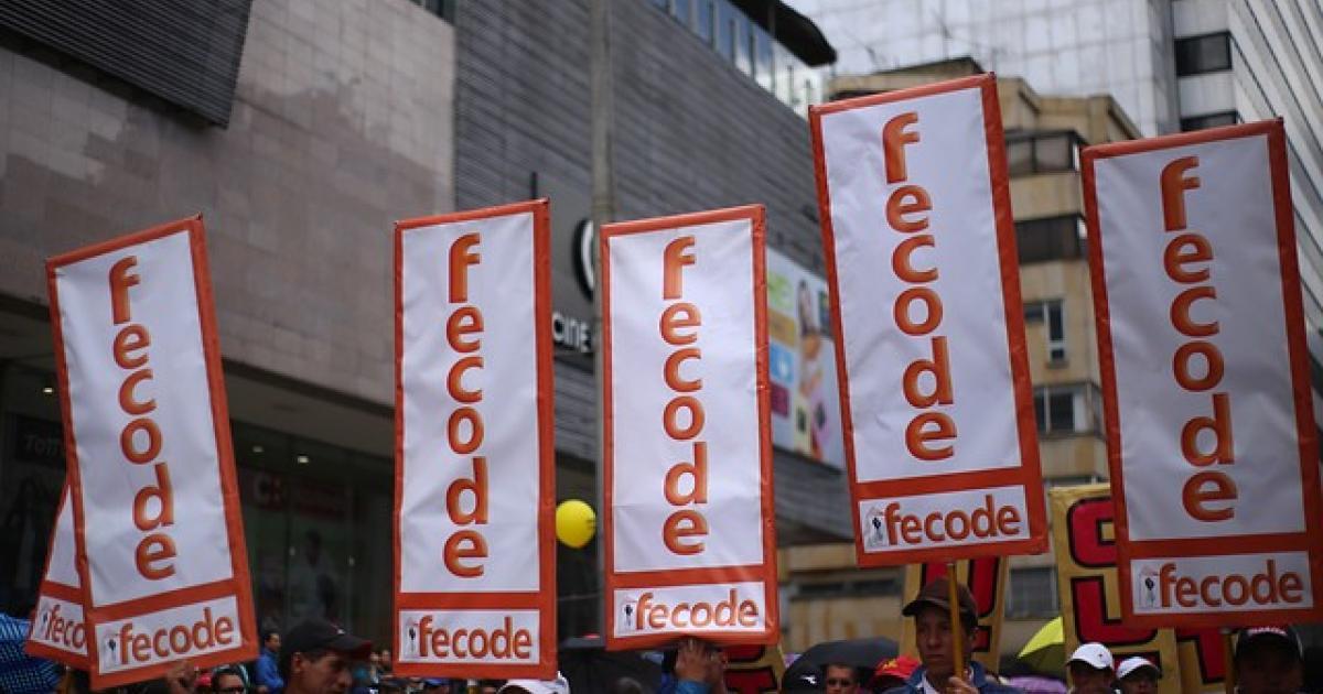 hay paro nacional virtual de 48 horas convocado por Fecode