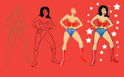Wonder Woman by Krishna M. Sadasivam