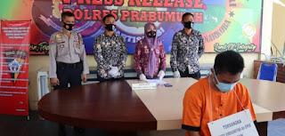 Satres Narkoba Polres Prabumulih Amankan Oknum PNS  Pemuja Sabu