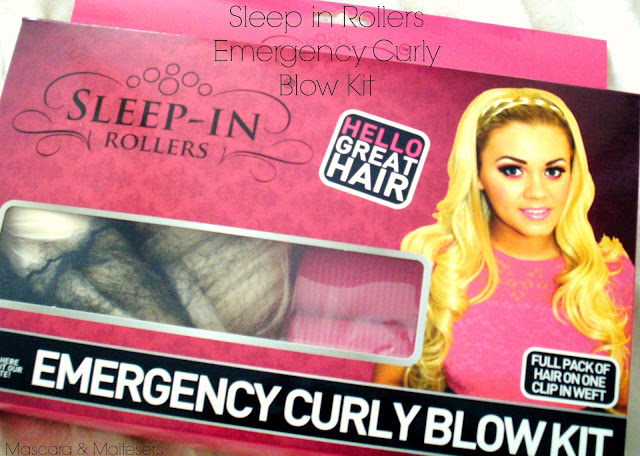 Sleep in Rollers Emergency Curly Blow Kit