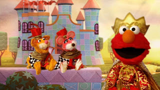 Elmo the Musical Prince Elmo the Musical, two royal mice guards, dragon, The Friendly Froggies Five, Velvet, Over Under Through, Froggy Quintet, Dragon Breath, Stinky Things, Sesame Street Episode 4315 Abby Thinks Oscar is a Prince season 43