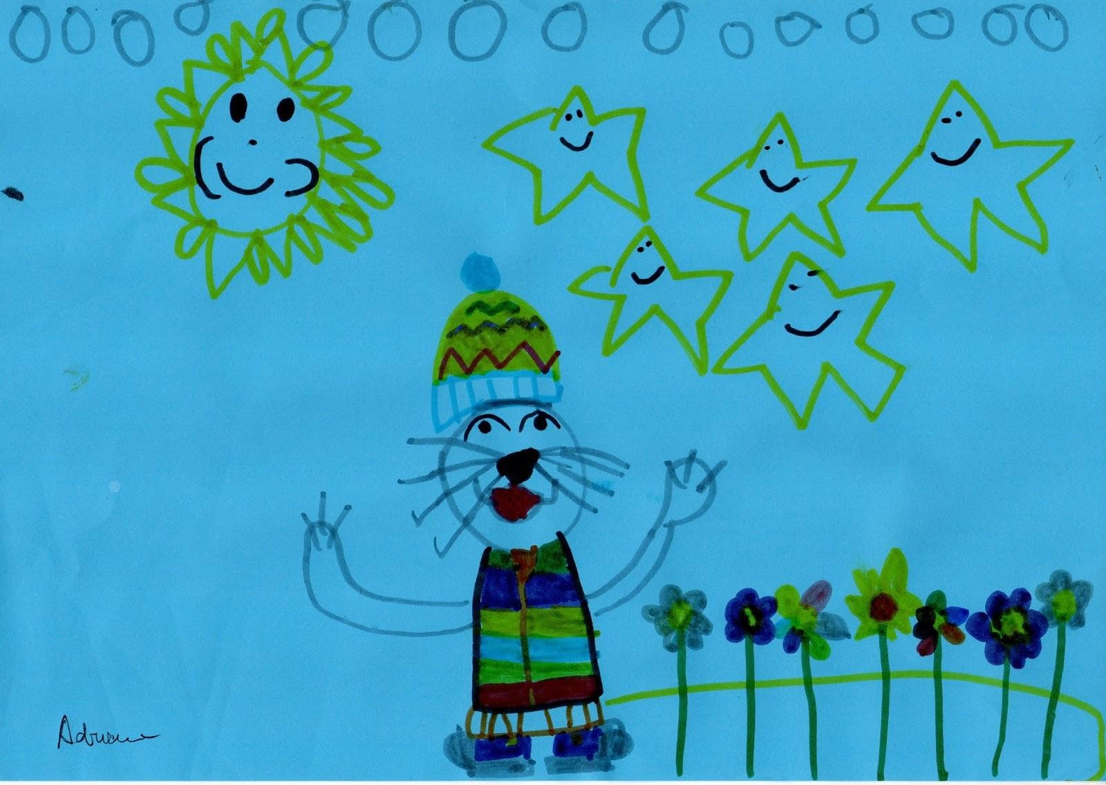 Profe Rafa De Infantil Dibujos Cuento La Flor Estrella