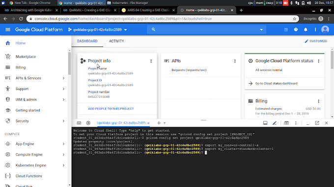 Kuberntes #1 : deploy and scaling Kubenetes on GCP